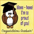 I'm Proud Of You Graduate.