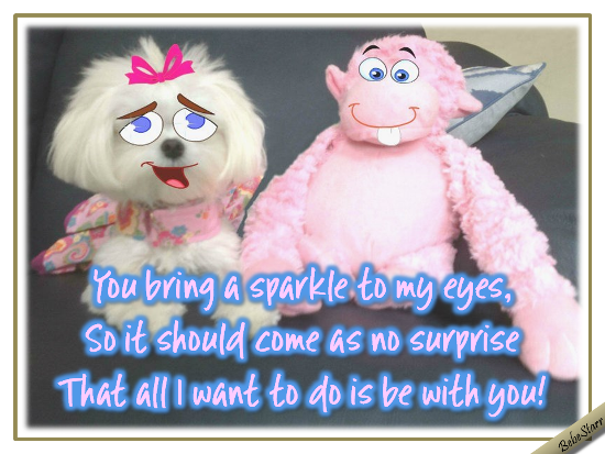 Sparkle To My Eyes!