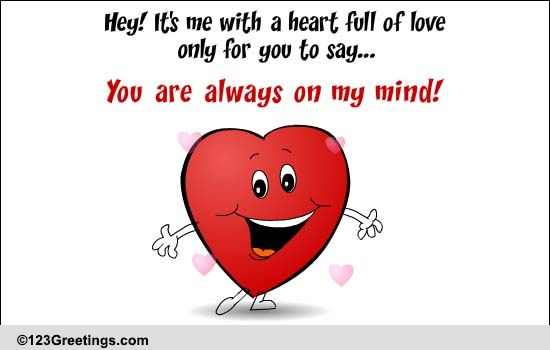 send a heart full of love free heart to heart ecards greeting
