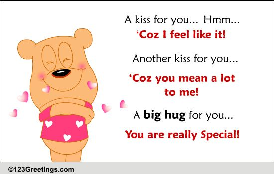 Hugs n Kiss Kisses And Hug For You