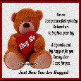 A Big Teddy Hug Just For You.