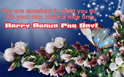 A Special Admin Pro Wish!