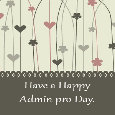 Happy Admin Pro Day.