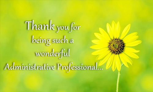 Administrative Professionals Day®!