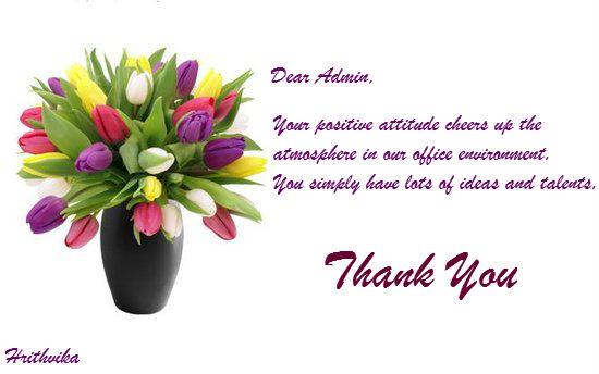 Your Positive Attitude...
