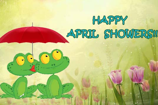 showers of blessings   free april showers day ecards