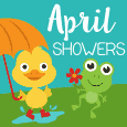 April Showers Ducky.