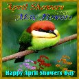 An April Showers Day Card For You.
