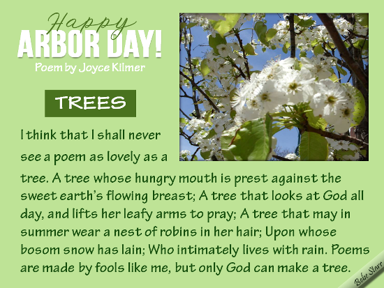 Happy Arbor Day!