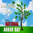 Let's Plant Trees On Arbor Day.
