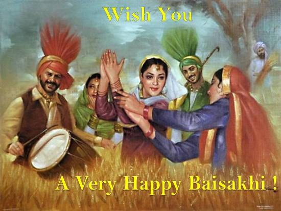 Greetings On Baisakhi.