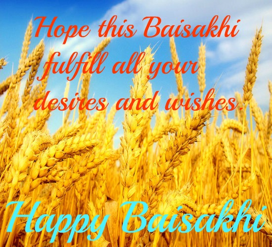 Best Wishes Of Baisakhi For All.