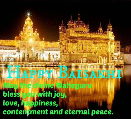 Blessings Of Baisakhi...