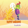 Purple Wishes Happy Baisakhi.