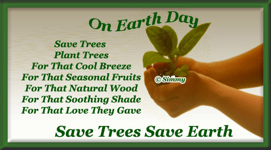 Special Message On Earth Day.
