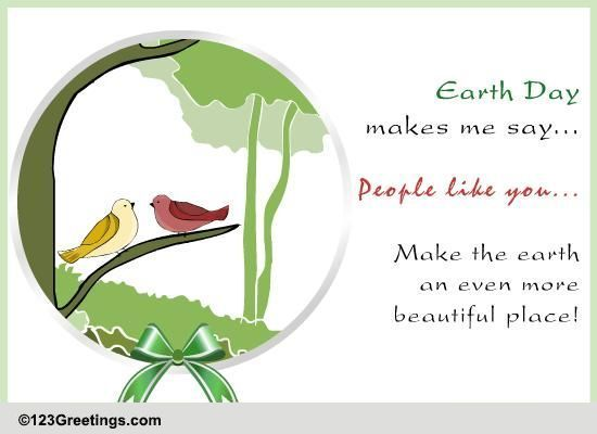 Send Earth Day Greetings!