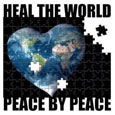 Heal The World Peace By Peace!