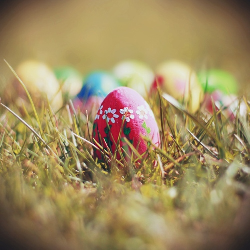 Colorful Easter Egg.