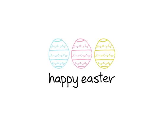 Happy Easter - Eggs.