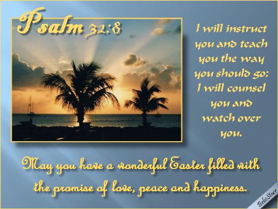 Psalm  32:8.