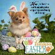 A Cute Easter Message Card For You.