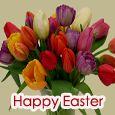Sending Beautiful Flowers On Easter.