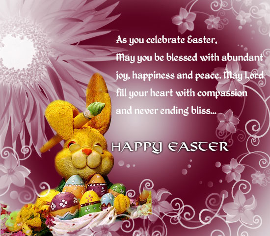 Blissful Easter Greetings!