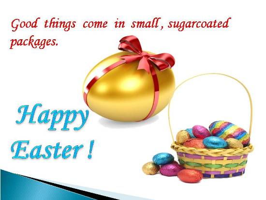 Greetings For A Very Happy Easter.