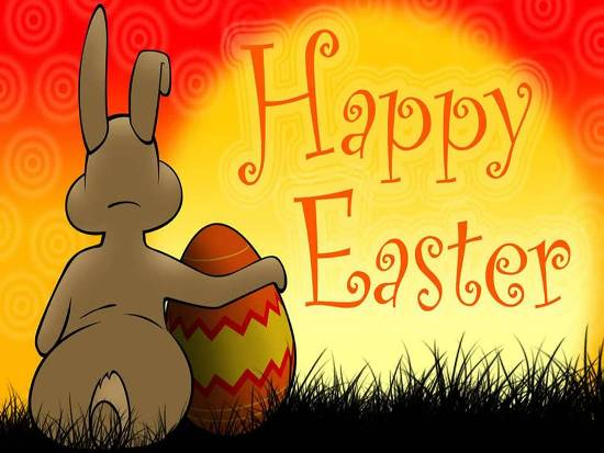 Wishes For A Bright And Cheery Easter.