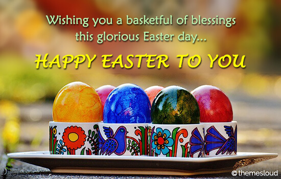 Happiest Easter Day To You.
