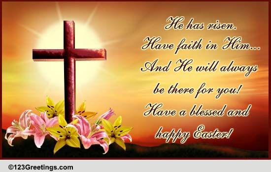 Blessed and happy easter free happy easter ecards greeting cards free happy easter ecards greeting cards 123 greetings m4hsunfo