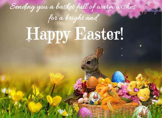 Send a Blessed Easter Greeting!