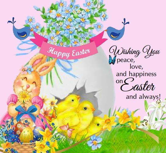 Send Happy Easter Ecard