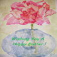 Happy Easter Painting.