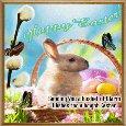 Easter Bunny Ecard.