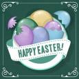 Easter Egg Greeting.