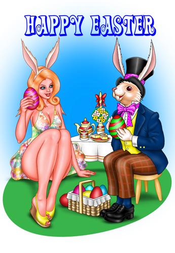 Mr. & Mrs. Bunny.