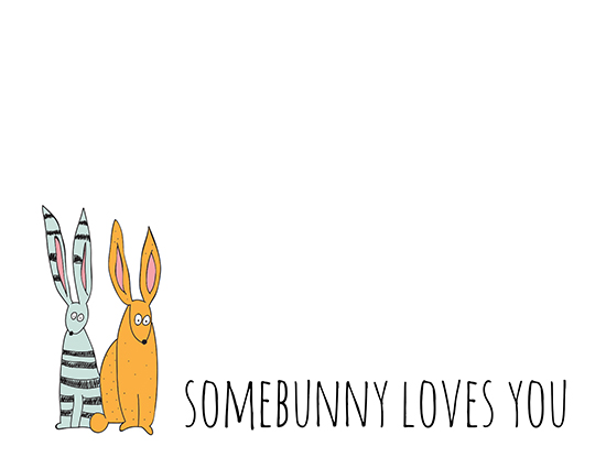 somebunny loves you free fun ecards greeting cards 123 greetings. Black Bedroom Furniture Sets. Home Design Ideas