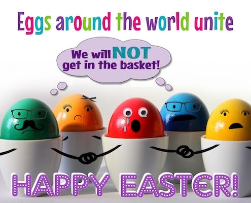 Easter Eggs Unite!