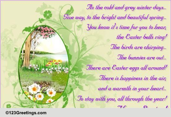 Easter Poems & Quotes Cards, Free Easter Poems & Quotes ...
