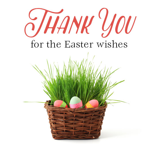 Thank You For Your Business Basket: Easter Basket Thank You. Free Thank You ECards, Greeting