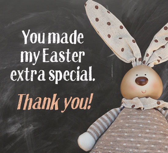 easter thank you greetings  free thank you ecards