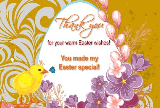 you made my easter special  free thank you ecards  greeting cards