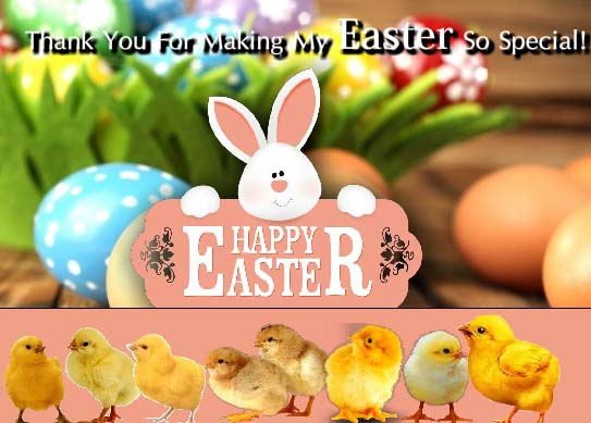 easter thank you for everyone  free thank you ecards  greeting cards