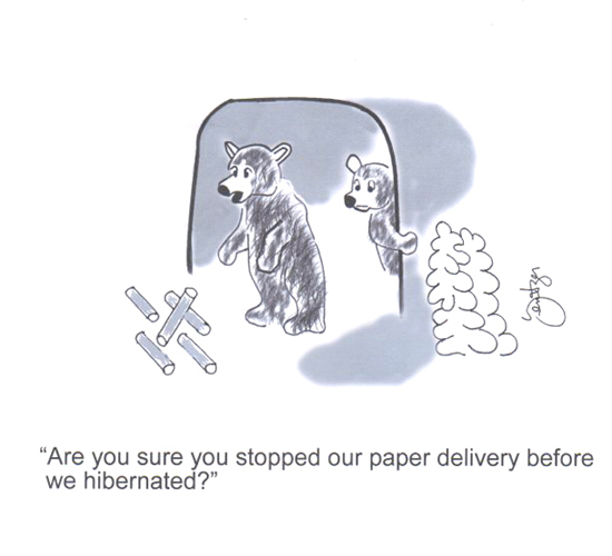 Newspaper Delivery!