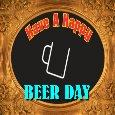 My National Beer Day Card.