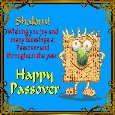 Shalom And Happy Passover!