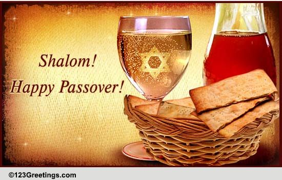 passover wishes cards