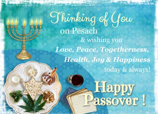 Passover wishes blessings free happy passover ecards 123 greetings m4hsunfo