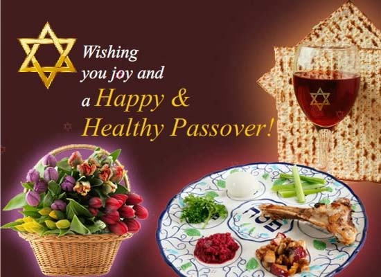happy and healthy passover  free happy passover ecards